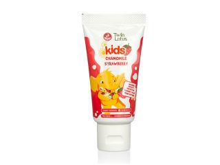 双莲优乳益齿儿童牙膏 (草莓&      洋甘菊)
