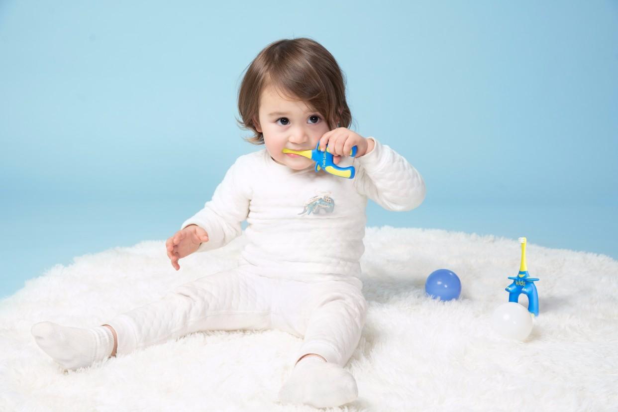 双莲儿童乳牙趣味牙刷